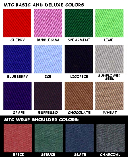2011 Strap and Frame Colors